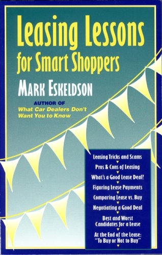 Leasing Lessons For Smart Shoppers