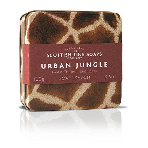 Scottish Fine Soaps Urban Jungle Soap In A Tin - Soap Giraffe
