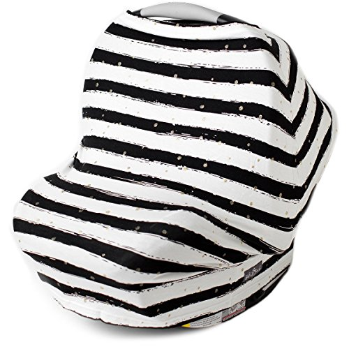 Glittery Stripes Nursing Shopping Breastfeeding