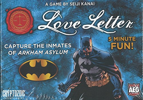 Love Letter Batman Boxed Edition Card Game by AEG
