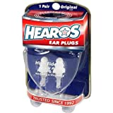 HEAROS High Fidelity Musician Ear Plugs Ultimate In Comfortable And Hearing Protection Professional Musicians Earplugs Noise Cancelling Earplugs For Concerts Motorcyclists Loud Events (1 Pair)