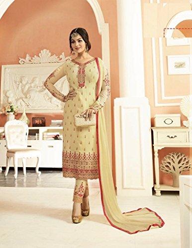 culturale costume salwar designer Indiano tradizionale pakistano vestito misura abito etnico 891 su lungo dgqant