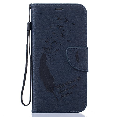 Funda Samsung Galaxy S7 Edge Sunroyal ® [Cierre Magnético] Bookstyle para Samsung Galaxy S7 Edge SM-G935 5.5 Funda Ultra Slim PU Cuero Flip Stand Feature Púrpura Caso Leather Wallet Cáscara Cubierta  B-08