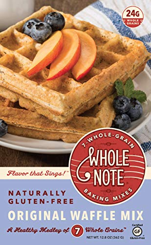 Whole Note Original Waffle Mix, 7-Whole-Grain and Naturally Gluten-Free (Single Package)