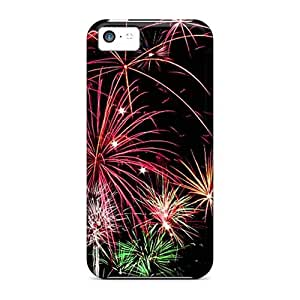 Cute High Quality Iphone 5c Fireworks Case