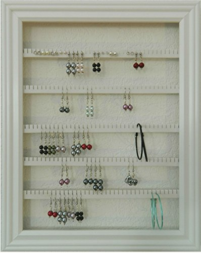 Amazon.com: Earring Holder - Holds 100 pair - Made with a 10\