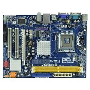 ASRock G31M-S R2.0 - Placa base Intel (zócalo LGA775, micro ATX, memoria DDR2)