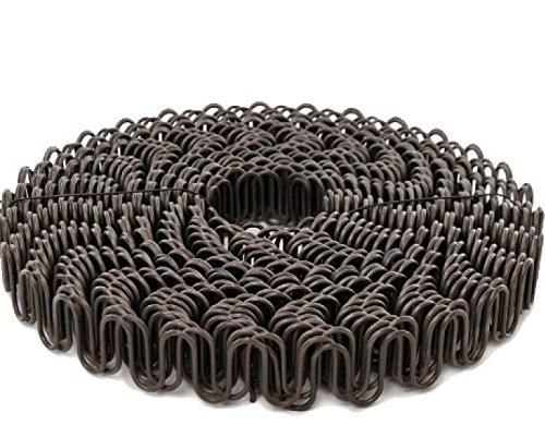 B.C. Upholstery Zig Zag No Sag Furniture Spring (Sinuous Wire) - 11 Gauge / 140' Roll