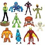 Ben 10 Alien Force Series 2 Capsule Toys Set of 10