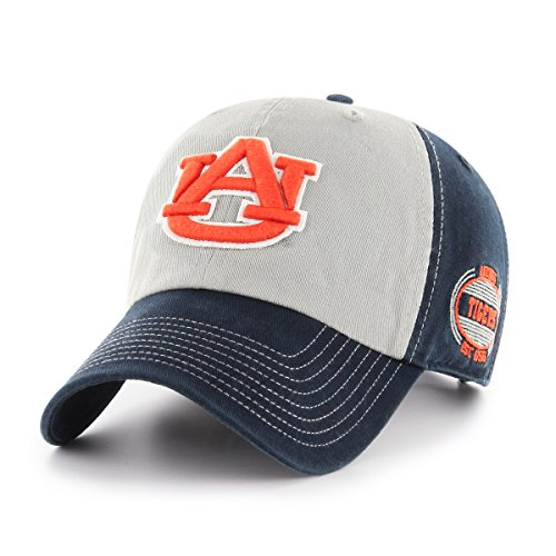 NCAA Auburn Tigers Tuscon OTS Challenger Adjustable Hat, Team Color, One Size