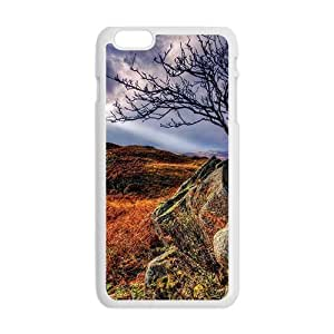 Autumn Fields Rocks White Phone Case for HTC One M8