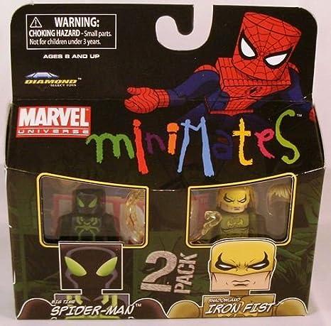 Marvel Minimates Series 38 Mini figura 2 Pack Spiderman IRONFIST ...