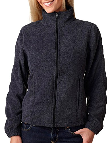 - Ultraclub Ladies' Ultraclub Iceberg Fleece Full-Zip Jacket, Chrcl, Medium
