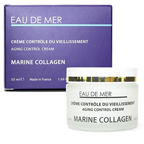 Marine Collagen Aging Control Cream, Anti Aging Creams for Face - Reduces Wrinkles, Fine Lines and More for Youthful Radiant Skin (Clear White Brightening Soothing Serum)