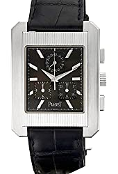 Piaget Protocol quartz grey mens Watch 14600 (Certified Pre-owned)