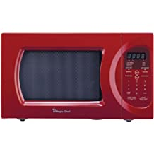MAGIC CHEF MCPMCD992R, .9-Cubic-Feet, 900-Watt Microwave with Digital Touch