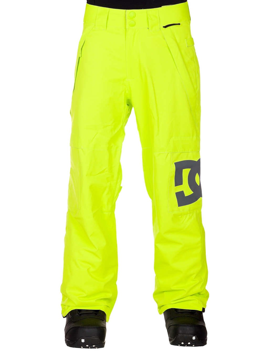 DC Banshee 13 Insulated Pant - Boys' Lime, M by DC