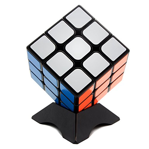 Rubiks Cube Original 3x3 Puzzle (MoYu MF3 3x3 Speed & Magic Cube Puzzle | Anti-Stick Concave For Smooth Twisting | Educational Toy For Adults & Kids | Sharpen Brain, Enhance Fine Motor Skills, Critical Thinking&Problem Solving(56mm))