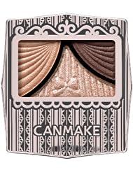 日亚:CANMAKE 井田 蝴蝶结清透水漾 三色眼影盒 多色可选 特价648日元,约39元