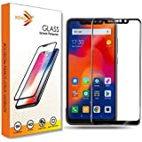 KOKO® 6D Tempered Glass with Curved Edges and 9H Hardness - Full Glue Edge-Edge Screen Protection for Redmi Note 6 Pro (Black) (Limited Period Launch Offer)
