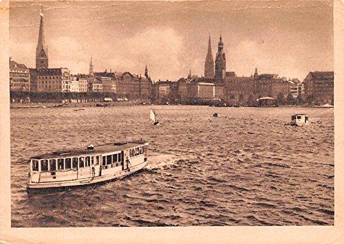 innen-alster-hamburg-germany-postcard