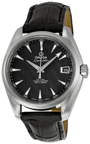Omega Men's 231.13.39.21.06.001 Black Dial Seamaster Aqua Terra Watch