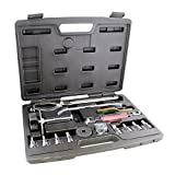 ABN Brake Tools 15-Piece Brake Kit with Brake Caliper Tool, Brake Drum Puller, Brake Adjusting Tool – Brake Tool Set