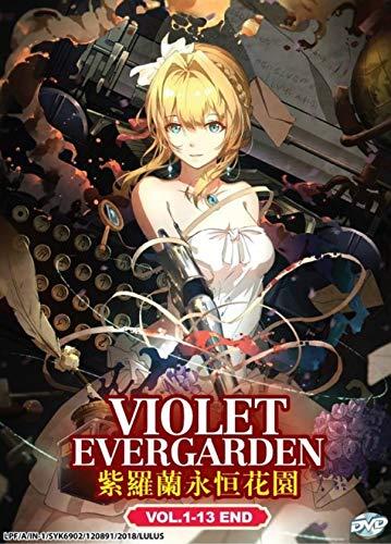 VIOLET EVERGARDEN - COMPLETE ANIME TV SERIES DVD BOX SET (14 EPISODES)