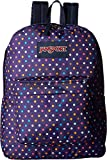 JanSport Unisex SuperBreak Purple Spot-O-Rama Backpack