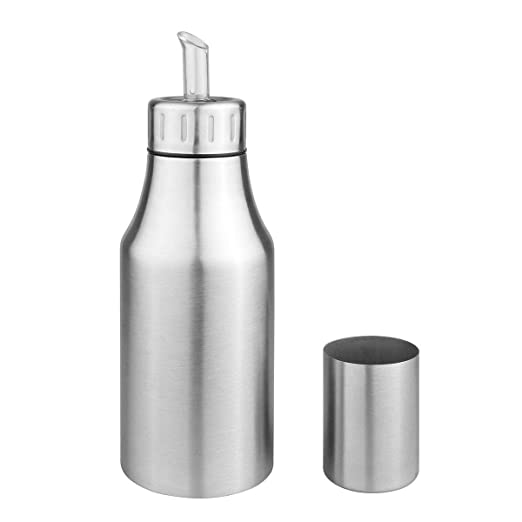 Dispensador de aceite y vinagre, botella de aceite de acero ...