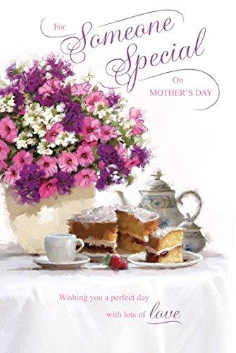 Tarjeta de felicitación para el día de la madre con texto en ...