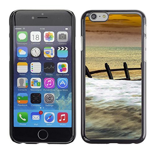 Premio Sottile Slim Cassa Custodia Case Cover Shell // F00028877 Briser les vagues // Apple iPhone 6 6S 6G PLUS 5.5""