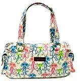 Bungalow360 Vegan Cotton Barbie Satchel Purses-NEW 2013 Patterns!-Shark, Flamingo, Alligator, Jellyfish, Hippo
