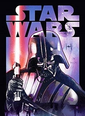 Disney Star Wars Darth Vader Classic Super Soft Plush Oversized Twin Throw Blanket (Star Wars Darth Vader Blanket)