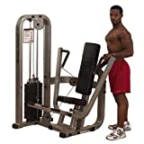 Body Solid Pro Club Line SBP100G2 Chest Press Machine with 210-Pound Weight Stack Body Solid