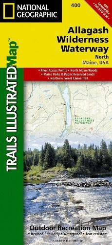 Allagash Wilderness Waterway North (National Geographic Trails Illustrated - Maine Shopping Outlets