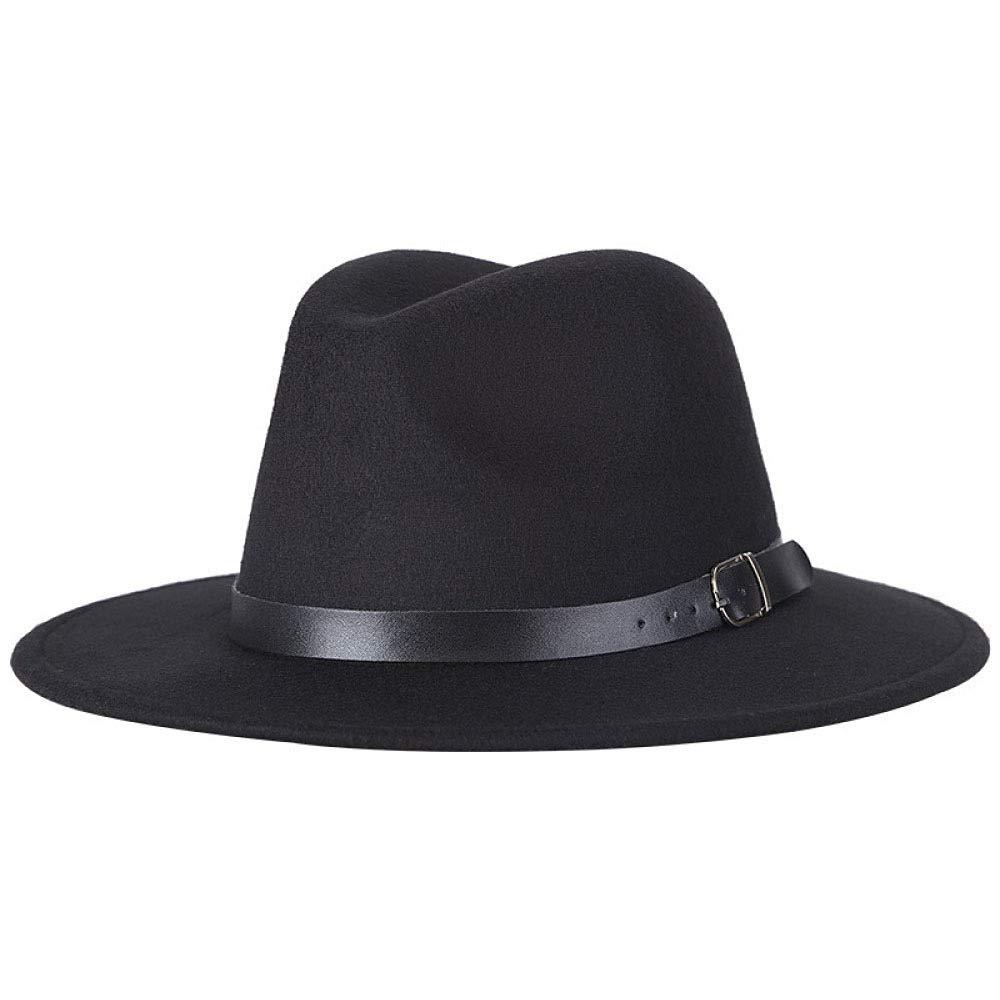 OLIS,Cappello Fedora Uomo Classique Borsalino Inverno Panama Cappelli Di Feltro Donne 1-OneSize PINGGU