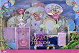 BARBIE as The ISLAND PRINCESS Getting Ready With TALLULAH - 20+ Piece PLAYSET (2007)