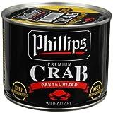 Phillips Foods Super Lump Crab Meat, 1 Pound -- 6 per case.