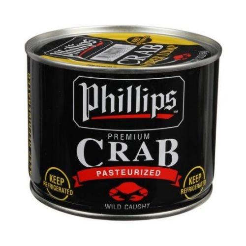 Phillips Foods Super Lump Crab Meat, 1 Pound - 6 per case. -