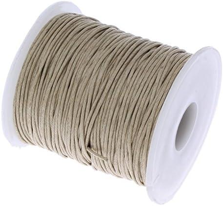 Perlin C172 – Cordón de algodón encerado, 75 m, de color arena ...