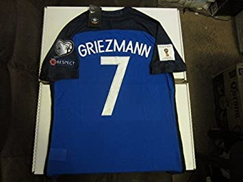 online store 5cc93 be5df Nike Antoine Griezmann #7 France Euro 2016 2018 World Cup ...