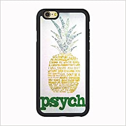 Psych Iphone 7 Case Funny Pineapple For 6s 47 TPU Wireless Phone Accessory