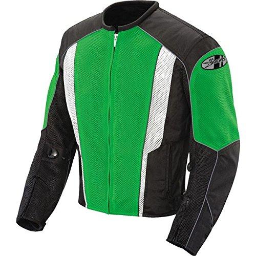 Green Motorcycle Jacket - 3
