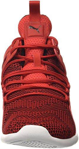Puma Uomo Sf Evo Gatto Sneaker Medio Rosso Corsa-rosso Corsa-puma Bianco