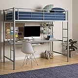 Best Walker Edison Bunk Beds - Walker Edison Silver Metal Twin Bunk Bed Review
