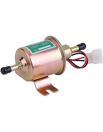 Ndier - Bomba de combustible eléctrica para motores diésel de gasolina (12 V, universal