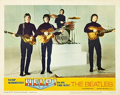 The Beatles Help Lobby Card Movie Poster Replica 11 X 14