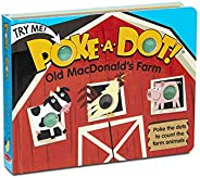 Melissa & Doug Children's Book - Poke-a-Dot: Old MacDonald's Farm (Board Book with Buttons