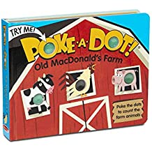 Melissa & Doug Children's Book - Poke-A-Dot: Old Macdonald'S Farm (Board Book with Buttons To Pop)